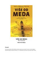 VIŠE OD MEDA - Kinematografi Osijek