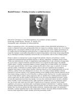 Rudolf Steiner - Položaj čovjeka u cjelini kozmosa