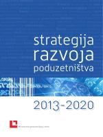 Strategija razvoja poduzetništva 2013.