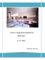 Izvješće o stanju društva Jadranka d.d. Mali Lošinj za 1