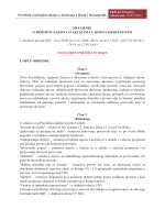 Pravilnik o primjeni zakona o akcizama u Bosni i