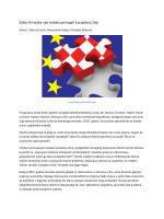 Zašto Hrvatska nije trebala pristupiti Europskoj Uniji