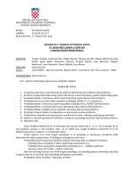 zapisnik sa 2. sjednice općinskog vijeća