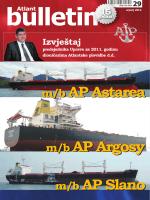srpanj 2012. - Atlantska plovidba dd Dubrovnik