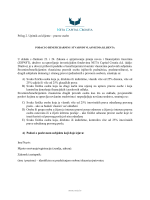 Prilog 2. Upitnik za klijente – pravne osobe U skladu