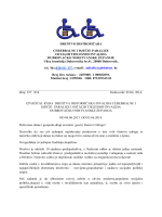 Izvještaj rada društva 2013 -2014 - Društvo distrofičara invalida