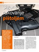 Pištolj je vatreno oružje i smrtonosno. Imati pištolj velika je