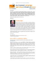 Prvi newsletter projekta EESI2020