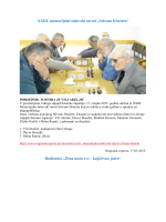 o nama- 2015 godina - Udruga slijepih Istarske županije Pula
