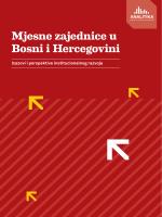 Mjesne zajednice u Bosni i Hercegovini