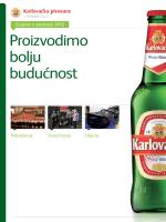 izvješće o održivosti karlovačke pivovare
