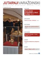 Šest tisuća posjetitelja u Noći muzeja - str. 7.