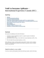 Vodič za Inozemne Aplikante – International Experience Canada (IEC)