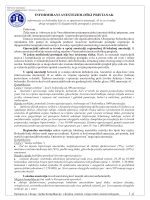 INFORMIRANI ANESTEZIOLOŠKI PRISTANAK 1-4