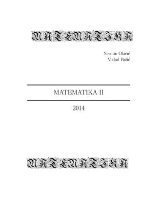 4.2 Krivolinijski integral prve vrste