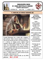 FRANJEVAČKA CRKVA SV. IVANA KRSTITELJA U ZEMUNU U