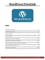 WordPress Priručnik