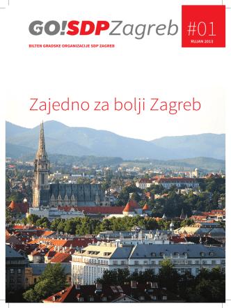 Bilten: Zajedno za bolji Zagreb