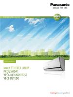 Katalog Panasonic kućne klime - PET