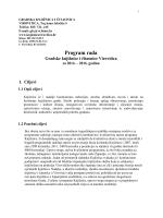 Program rada Gradske knjižnice i čitaonice Virovitica za 2014.