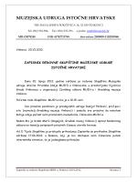 Zapisnik sa redovne skupstine MUIH-a 20.06.2012