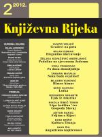 lipanj 2012. - Društvo hrvatskih književnika – ogranak u Rijeci