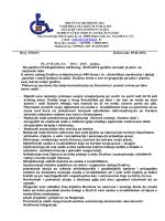 Plan rada za 2014 - Društvo distrofičara invalida cerebralne i dječje