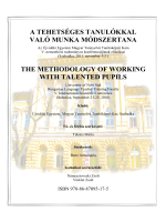 a tehetséges tanu való munka móds the methodology o with