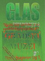 GLAS br. 8/god. X_2011 - Gradski muzej Karlovac