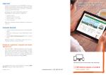 Brošura o uslugama modernog bankarstva