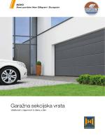 Garažna sekcijska vrata