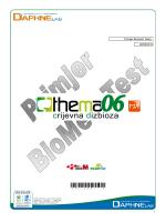 Thema 06 - Intolerancija na hranu