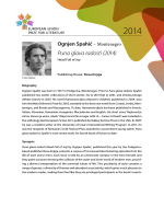 Puna glava radosti (2014) - European Union Prize for Literature
