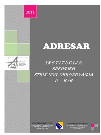 ADRESAR - Odjel za srednje stručno obrazovanje