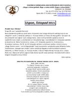 Uspon, listopad 2013. - Karmelićanke Božanskog Srca Isusova