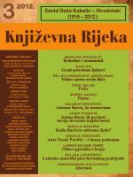 Živa rijeka - Društvo hrvatskih književnika – ogranak u Rijeci