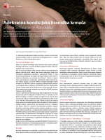 Adekvatna kondicijska hranidba krmača (pdf | 197,08