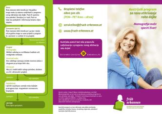 Austrijski program za rano otkrivanje raka dojke Mamografija može