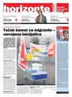 Težak šamar za migrante – usvojena inicijativa