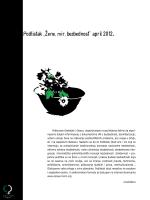 "Podlistak ""Zene,mir,bezbednost"" april 2012."