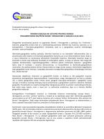 Predsjednik Udruženja geografa u Bosni i Hercegovini