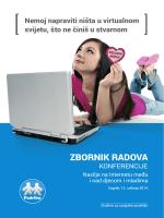 ZBORNIK RADOVA - Društvo za Socijalnu Podršku