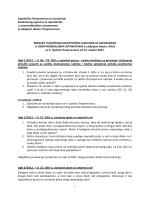 Pregled tumačenja Kolektivnog ugovora sa 5. sjednice