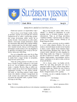 Službeni vjesnik 6-2014