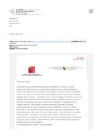 APOSO Newsletter broj 1.