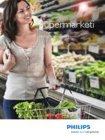 Katalog rasvjete za supermarket