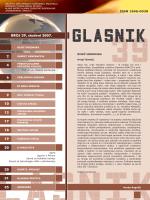 GLASNIK br. 39