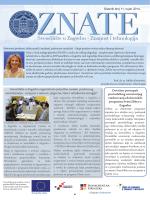 ZNATE 11, rujan 2014. - CIRTT - Centar za istraživanje, razvoj i