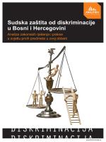 Sudska zaštita od diskriminacije u Bosni i Hercegovini
