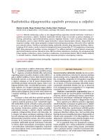 radiološka dijagnostika upalnih procesa u zdjelici